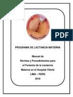 Modelo de Politica LM 2016