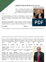 A Wall Street Por Trás Do Golpe de Estado No Brasil Michel Chossudovsky