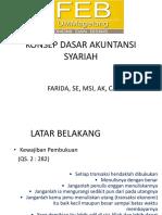 1. Konsep Dasar Akmen Keu Syariah