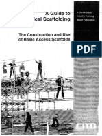 A Guide for Scaffolding
