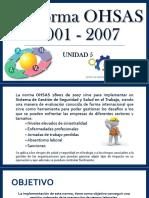 La Norma Ohsas 18001 - 2007