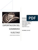 Exportacion Sombrero Voltiao