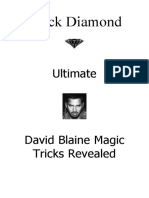 David Blaine Magic Revealed