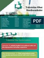 PPT TOKSISITAS OBAT  KARDIOVASKULAR-2.ppt