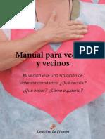 Manual Para Vecinas y Vecinos