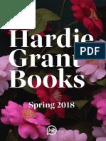Spring 2018 Hardie Grant Catalog