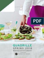 Spring 2018 Quadrille Catalog