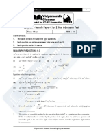 2year Subjective Sample Paper-2