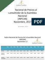 Inflación acumulada en Venezuela es de 1.369% , según la AN