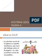 Origen Etapa y Evolucion Doctrina Social de La Iglesia