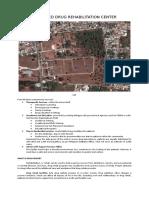 Proposed Drug Rehabilitation Center