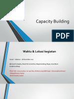 Capacity Building Materi Rapat