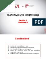 Planeamiento Estrategico(9 Sesi¾n_1)_UTP