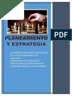 Planeamiento y Estrategia
