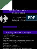 Patología Mamaria y Clasificaciones