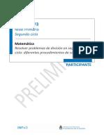 Ateneo Didáctico N° 3 - Segundo Ciclo Matemática - Carpeta Participante