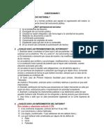 Cuestionario Clinica