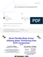 Wetzel, Wagner, Lee - 2003 - Novel Flexible Body Armor Utilizing Shear Thickening Fluid ( STF ) Composites.pdf