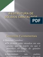235227-A Estrutura de Sólidos Cristalinos