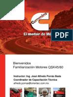 Qsk45_60 Motor Cummins