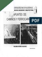 Apuntes de Caminos y Ferrocarriles