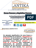 Zonas Francas Depositos Francos 2016
