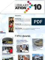 Library Orientation 2010- WKWSCI Postgraduates
