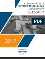 Report on Achievements of KP Government
