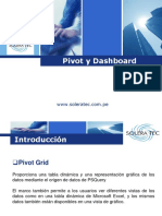 Pivot. y Dashboard