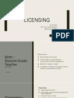 201 portfolio project 7 -licensing