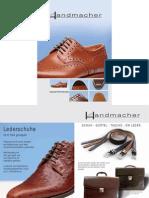 Handmacher Schuhe Gesamtkatalog 2010