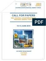 Call for Papers FOREN 2018