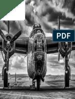 bombardero de la segunda guerra mundial