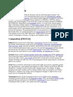 PESTLE (for Plant Expansion, Macro-external Environment)