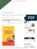 Livro 2_ Três Dimensões Educacionais, De Yves de La Taille