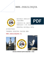 ESCUELA SHAOLIN QUAN Y EL SITIO WEB