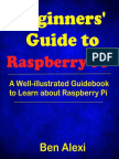 Beginners' Guide to Raspberry Pi_ a Well-illustrated Guidebook to Learn About Raspberry Pi - Ben Alexi