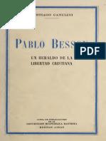 Pablo Besson Un Heraldo de La Libertad Cristiana Santiago Canclini