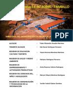 Plan de Trabajo Municipio Escolar 2018