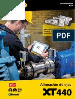 Alineador laser XT440 manual