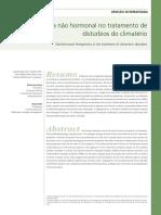 Terapeutica Nao Hormonal No Climaterio Femina 2009