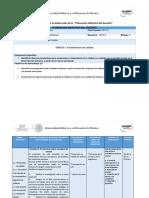 Planeación Didáctica Actividades Unidad 1 Modelos de Calidad