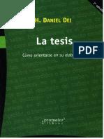 La Tesis. Daniel Dai WORD