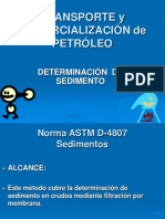 Astm D-4807 Sedimento