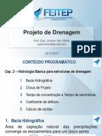 Cap 2 - Hidrologia Básica Para Estruturas de Drenagem