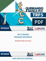 Trf5 Redação Discursiva Tereza Cavalcanti