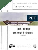 Guides d'Esthétiques Pour Ouvrages d'Art Courants