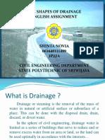The Shape of Drainage by Shinta Novia 2PJJA