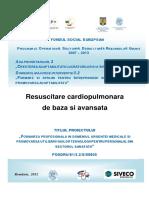 Manual Resuscitare cardiopulmonara de baza si avansata Diana Cimpoesu, Antoniu Petris