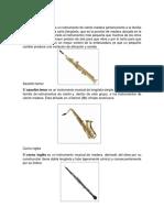 Album de Instrumentos Musicales Inebo